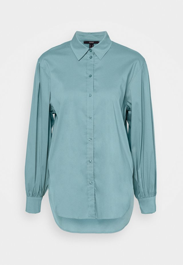 BLOUSE - Camicia - dark turquoise