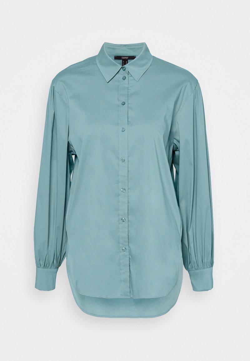 Esprit Collection - BLOUSE - Košile - dark turquoise