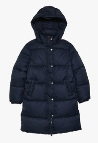 Tommy Hilfiger - RECYCLED EXTRA LONG PUFFER - Winter coat - blue - 0