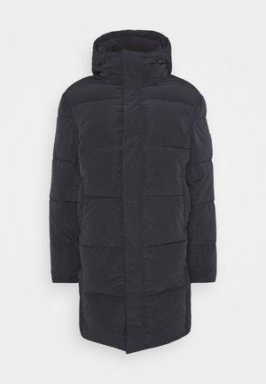 REPREVE LONG HOODED PUFFER JACKET - Winter coat - night
