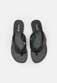 YAS - YASSALLI FLAT  - Varvassandaalit - black - 5