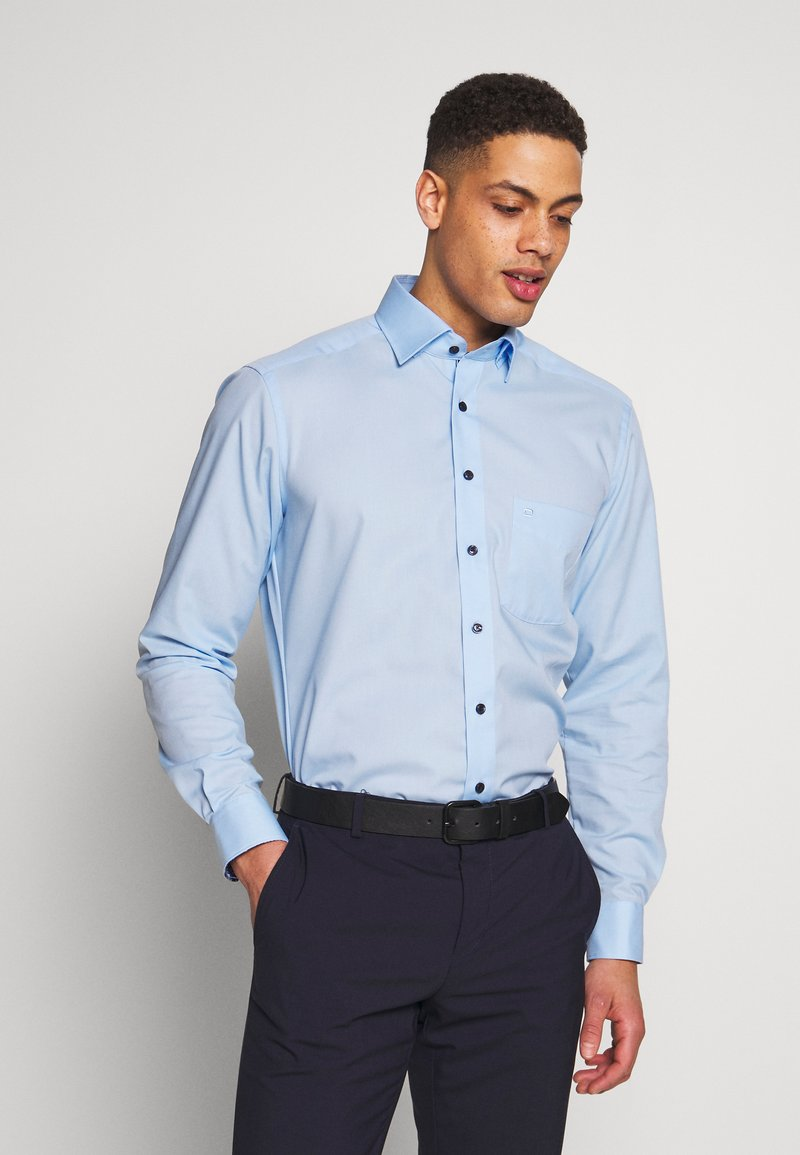 OLYMP - OLYMP LUXOR MODERN FIT - Formal shirt - azur