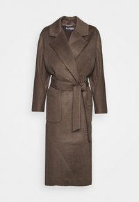 pure cashmere - BELTED COAT - Classic coat - cocoa brown - 0