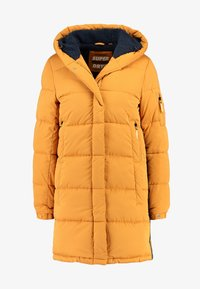 Superdry - SPHERE PADDED ULTIMATE - Vinterkåpe / -frakk - spectra yellow - 4