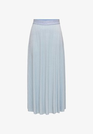 Pleated skirt - cashmere blue