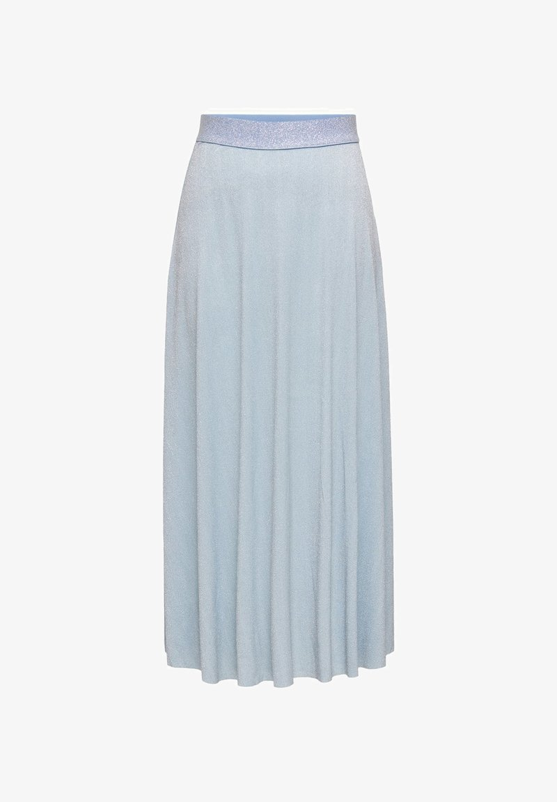 ONLY - Pleated skirt - cashmere blue
