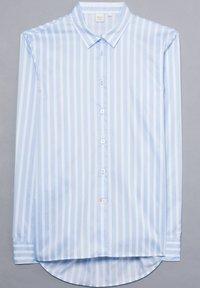 Eterna - Button-down blouse - hellblau/weiß - 5
