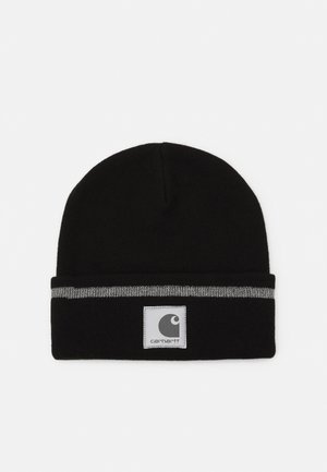 FLECT BEANIE - Bonnet - black/grey
