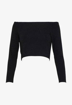 KIRA - Pitkähihainen paita - black