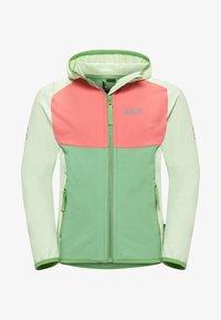 Jack Wolfskin - Zip-up hoodie - green sea - 0