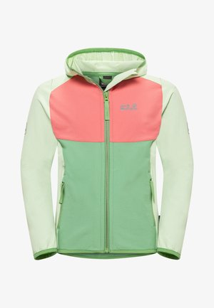 Zip-up hoodie - green sea