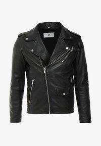 Serge Pariente - ROCKY - Leather jacket - black - 4
