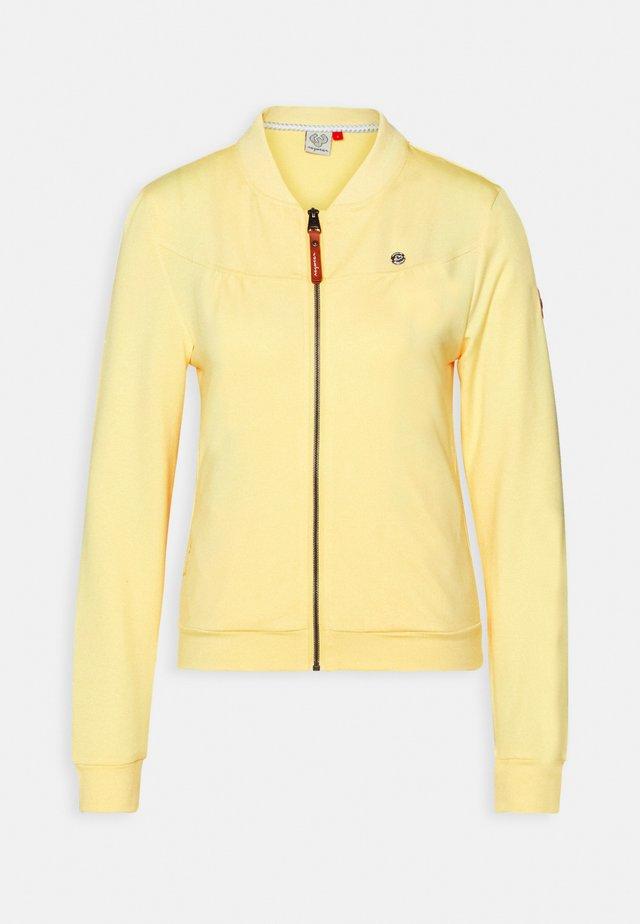 KENIA - Sweatjakke /Træningstrøjer - yellow