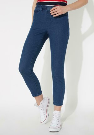 MIT SKINNY-PASSFORM - Jeggings - jeans medio