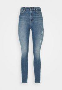 Vero Moda - VMSOPHIA DESTROY - Jeans Skinny Fit - medium blue denim - 3