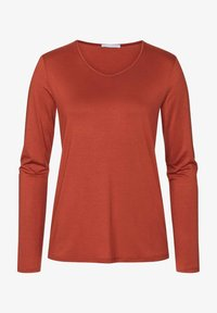 Mey - Long sleeved top - brick - 3