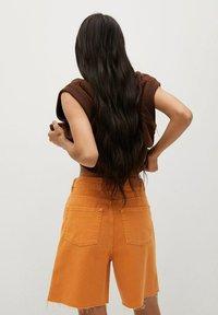 Mango - Shorts di jeans - oranje - 2