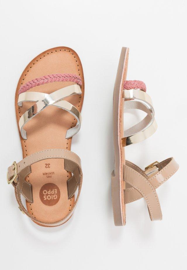 FOLIGNO - Sandals - coral