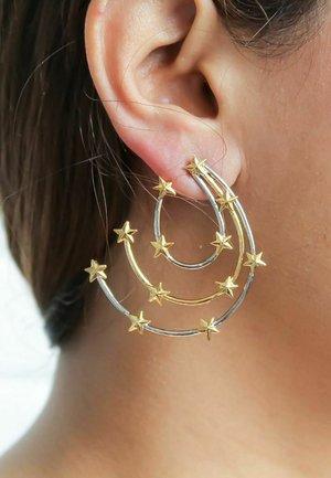 ORBIT  - Earrings - gold-coloured