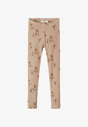 SLIM FIT - Leggings - Trousers - almondine
