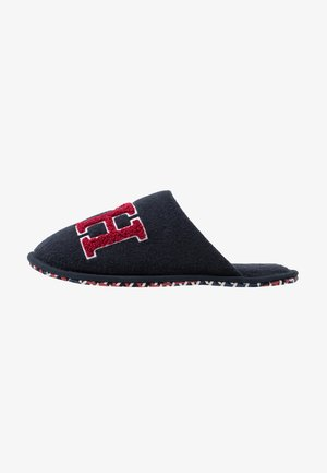 LOGO HOMESLIPPER - Slippers - blue