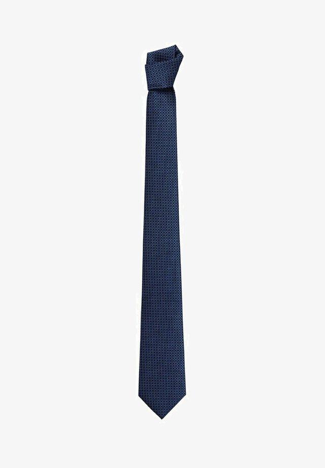 MICRO - Kravata - dunkles marineblau