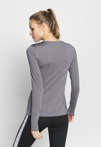 Nike Performance - ALL OVER - Sports shirt - gunsmoke/black - 2