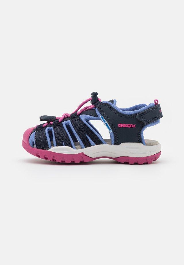 BOREALIS GIRL - Walking sandals - navy/avio