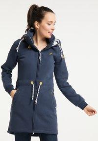 Schmuddelwedda - Zip-up hoodie - marine - 2
