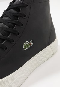 Lacoste - GRIPSHOT MID - High-top trainers - black/offwhite - 5
