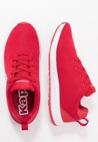 Kappa - BANJO 1.2 - Sports shoes - red/white - 1