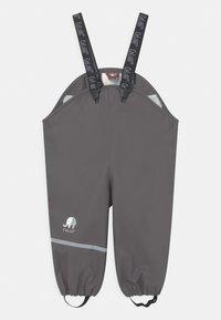 CeLaVi - BASIC RAINWEAR SOLID SET UNISEX - Waterproof jacket - grey - 3