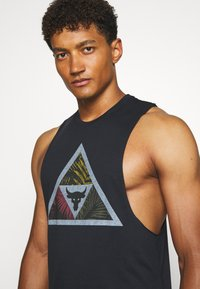 Under Armour - PROJECT ROCK MANA TANK - Top - black/summit white - 3