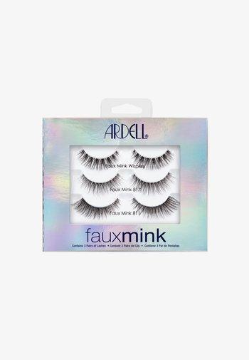 FAUX MINK GESCHENKSET - False eyelashes - -