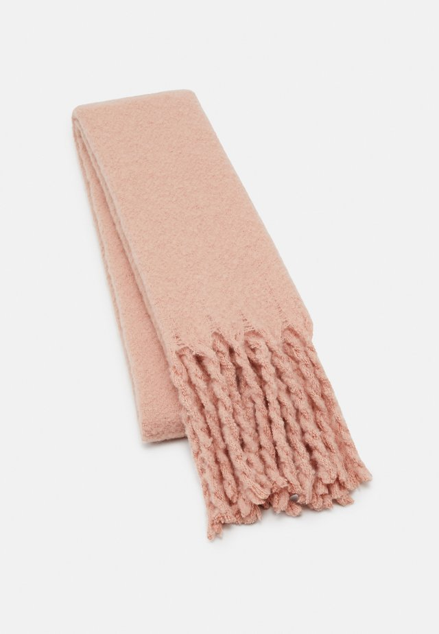 BIG FRINGE SCARF - Sjaal - light pink