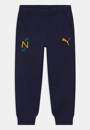 NEYMAR JR HERO UNISEX - Tracksuit bottoms - peacoat-dandelion