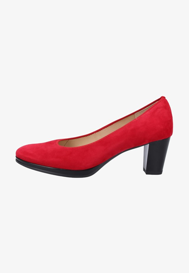 Pumps - red