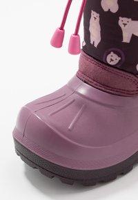 Viking - SNOWFALL BEAR - Winter boots - violet/pink - 2