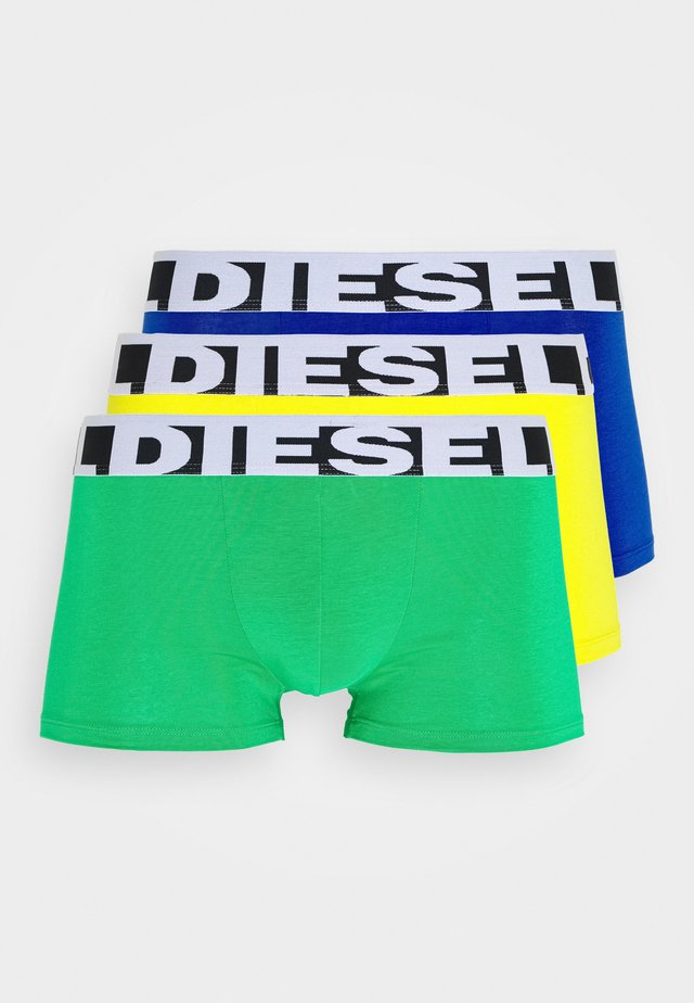 SHAWN 3 PACK - Pants - blue/green/yellow