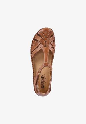 PUERRO VALLARTA - Wedge sandals - braun