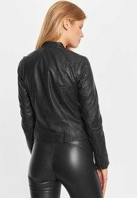 Notyz - EMMA - Leren jas - black - 2