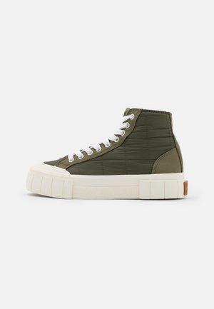 PALM PADDED UNISEX - Sneakers hoog - khaki