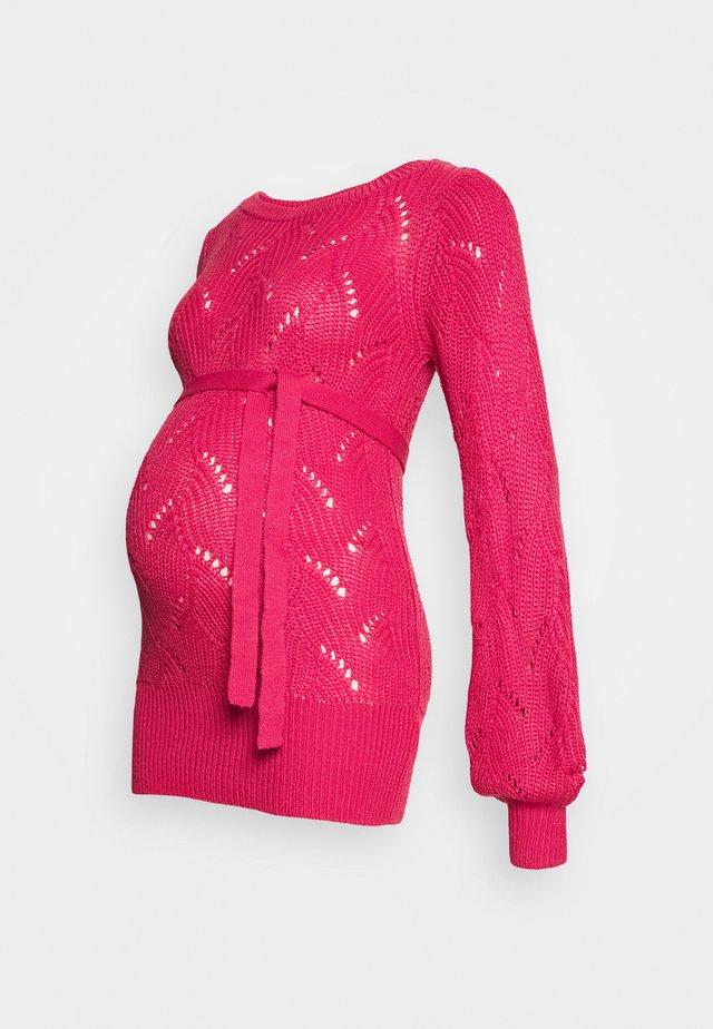 MLANNA - Jumper - fandango pink
