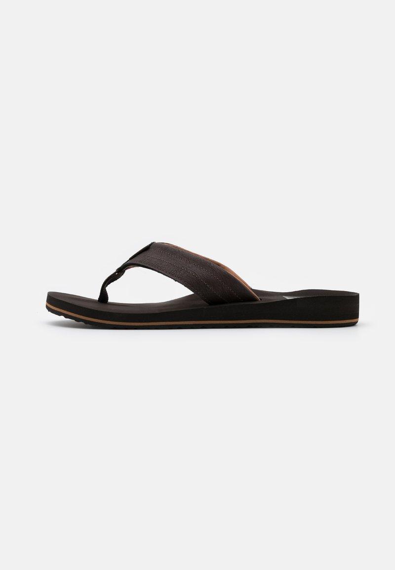Reef - TWINPIN LUX - Sandály s odděleným palcem - brown