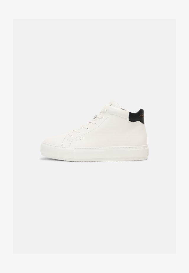 LANEY MID-CUT - High-top trainers - white