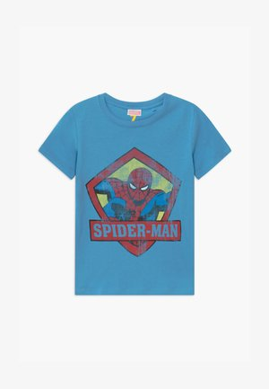 MARVEL SPIDERMAN SHORT SLEEVE - T-shirt print - blue