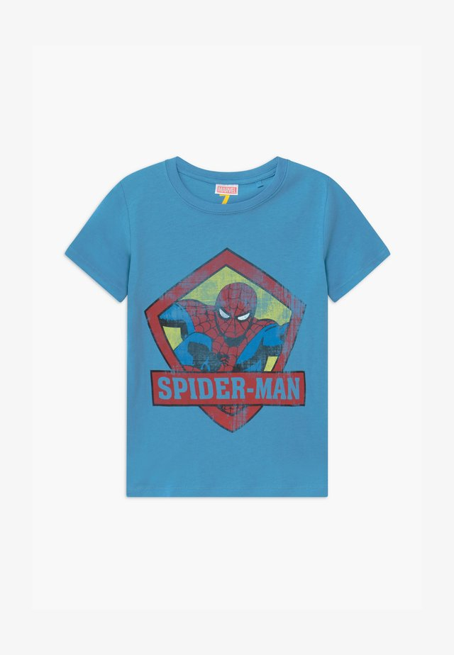 MARVEL SPIDERMAN SHORT SLEEVE - T-shirts print - blue