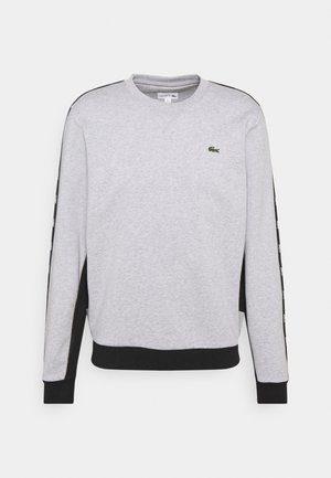 TAPERED - Sweater - silver chine/black