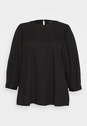 XAMANDA - Long sleeved top - black