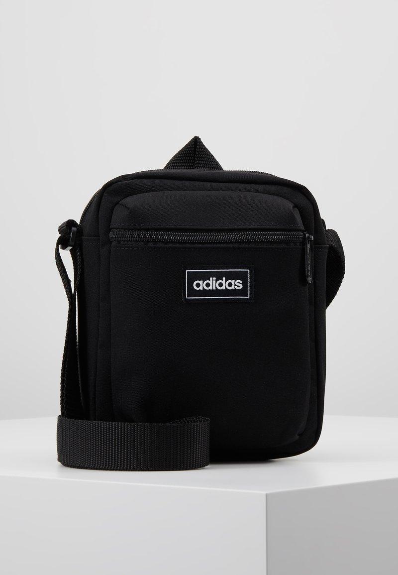 adidas Performance - Torba na ramię - black/white